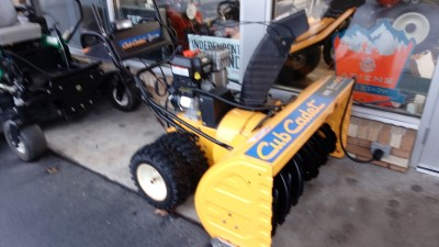 Cub Cadet Snowblower 420cc 45 Inch electric Start